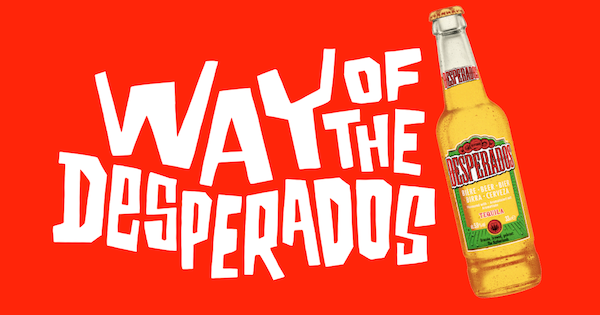 Does Your Brand Need Added Cool We Used Graffiti To Celebrate Desperados Unique Culture In London Street Advertising Services